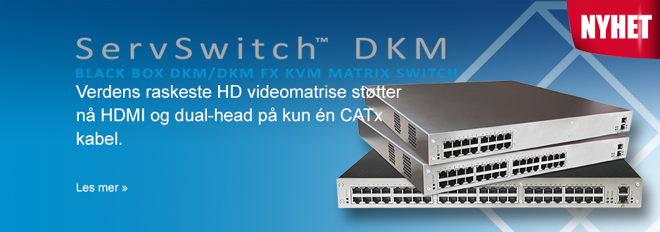 Verdens raskeste HD video matrise