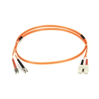 OM2 Black Box Connect 50/125µm Multimode Duplex Fibre Optic Patch Cable, LSZH