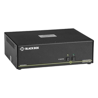 Secure KVM Switch, NIAP 3.0, DVI-I dual head