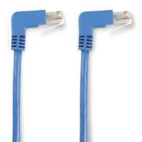 SpaceGAIN CAT6 UTP Angled Patch Cable