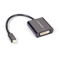 Mini DisplayPort Male to DVI Female Adapter, passive