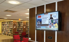 Digital signage in the Education Environment