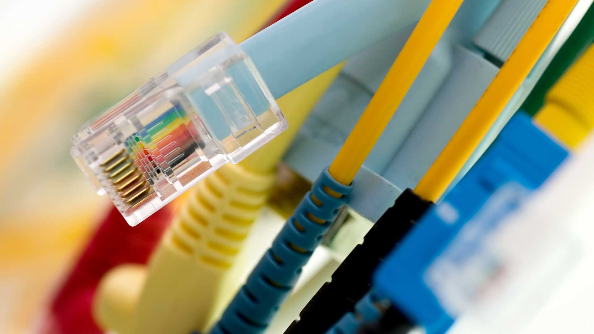 Premium copper and fibre cabling solutions