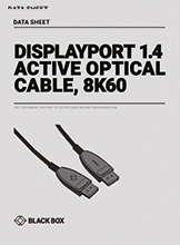 Data sheet AOC - DisplayPort